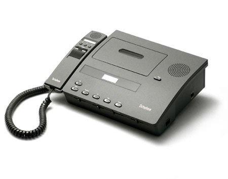 Dictaphone 1740D Desktop Mini Cassette Transcription System (Reconditioned)-0