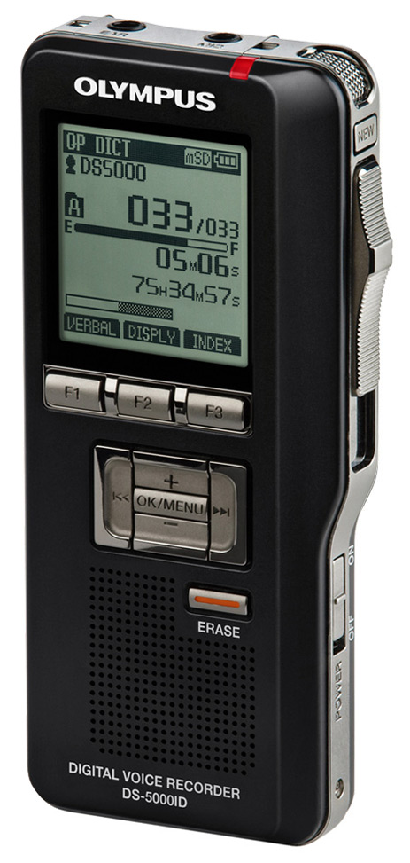 Olympus DS-5000 Digital Voice Recorder-0