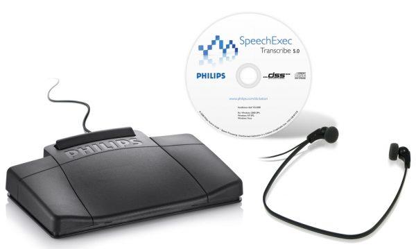 Philips 7177 SpeechExec Digital Transcription Kit (LFH7177)-0
