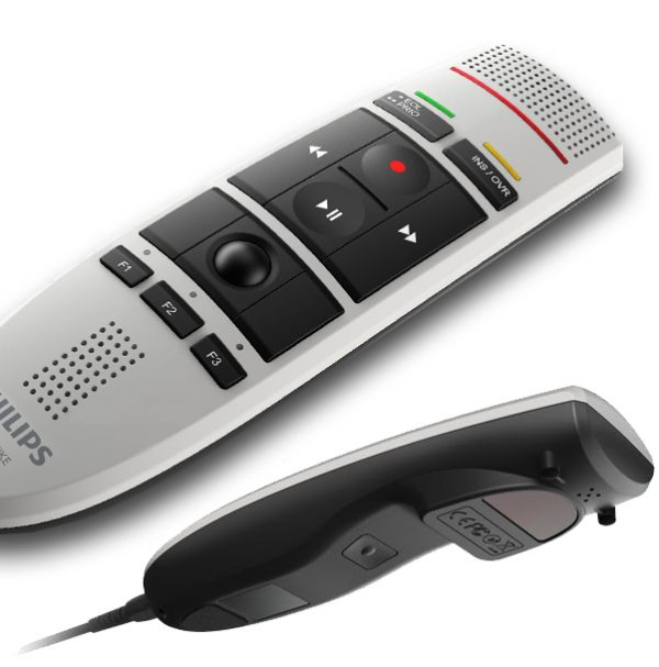 Philips 3300 SpeechMike 3 USB Microhone with Barcode Reader (LFH3300)-0