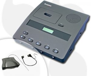 Dictaphone 3740T Micro Cassette Transcriber (Reconditioned)-0