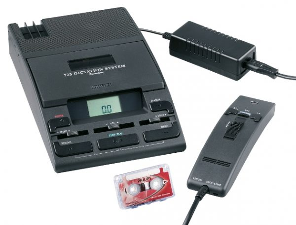 Philips LFH725 Minicassette Dictation Kit (Reconditioned) -0