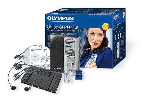 Olympus DS-2500 & AS-2400 Office Starter Kit-0