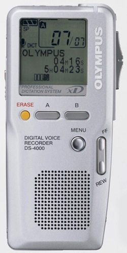Olympus DS-4000 Digital Voice Recorder (Reconditioned) -0